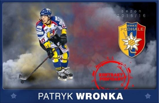 MMKS Podhale Nowy Targ jest dumne z wychowanków takich jak Patryk Wronka. /INTERIA.PL