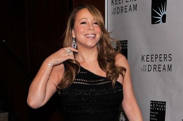 Mniej ekstrawagancka Mariah Carey fot. Jemal Countess /Getty Images/Flash Press Media