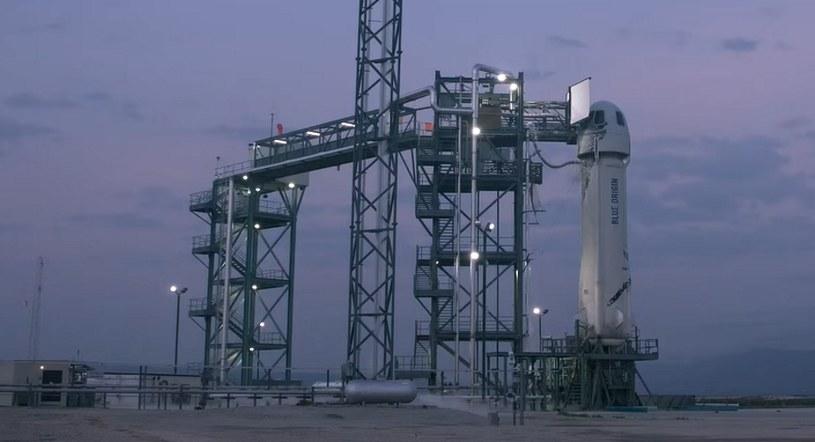 Mniej niż 60 minut do startu - rakieta New Shepard jest gotowa i sprawna /materiały prasowe