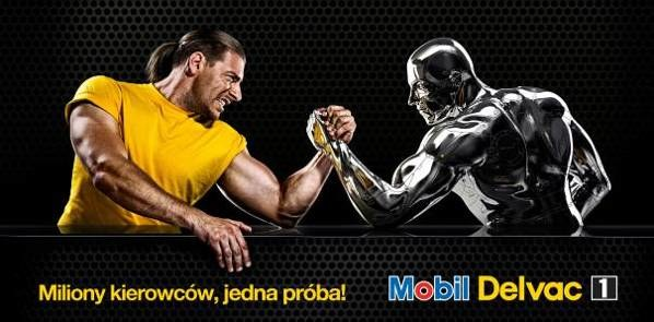 Mobil Delvac Strong Traker 2012 /materialy promocyjne /materiały promocyjne