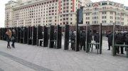 Mobilizacja policji w centrum Moskwy