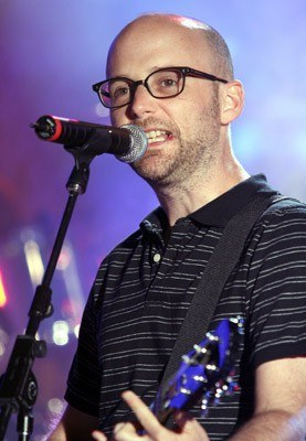 Moby na scenie /arch. AFP