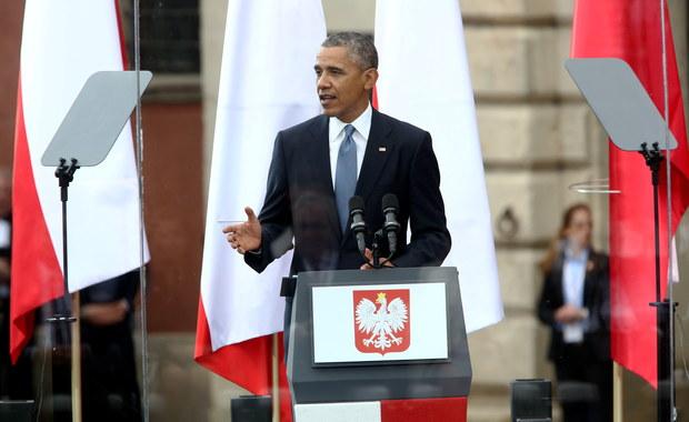 """Mocne przemówienie Obamy. """"Godne lidera wolnego świata"""""""