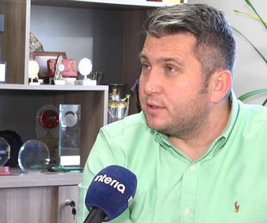 Mocne słowa prezesa PZKosz: Nie było odzewu ze strony Waczyńskiego. Wideo
