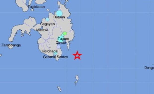 Mocne trzęsienie ziemi na Filipinach