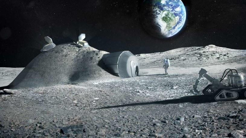 Mocz przyda się do budowy księżycowych baz? /materiały prasowe