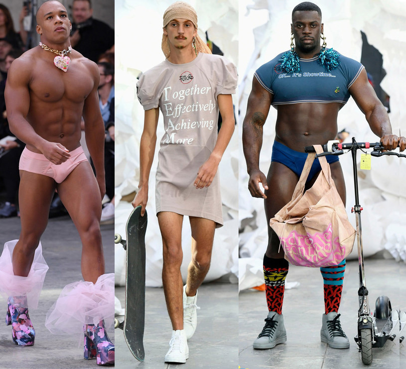 Moda męska według Vivienne Westwood /East News