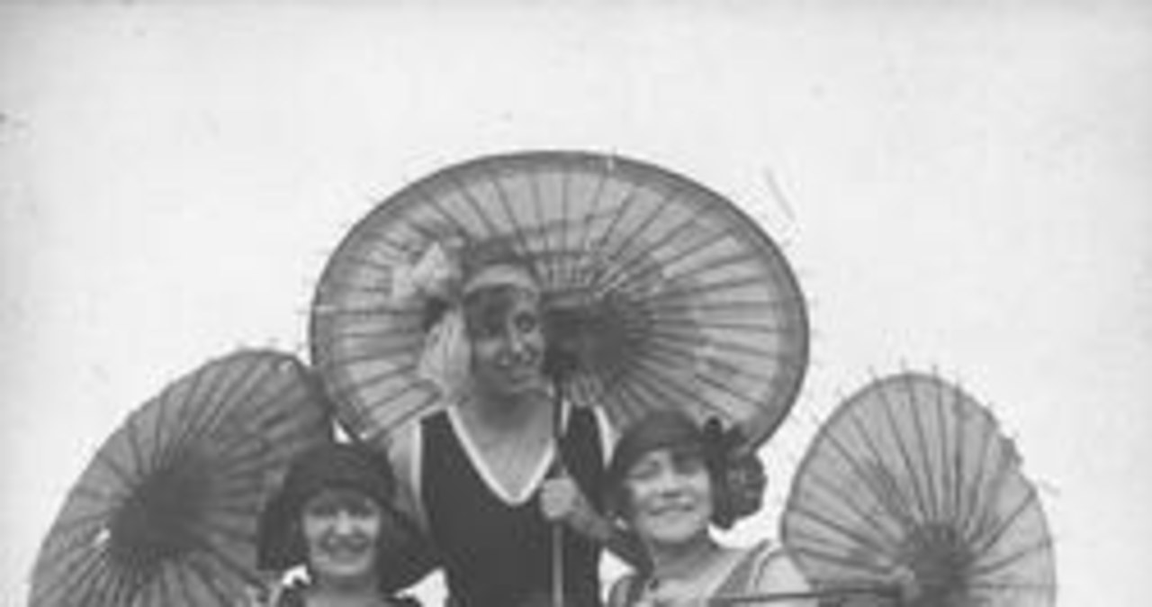 Moda plażowa na archiwalnych zdjęciach!