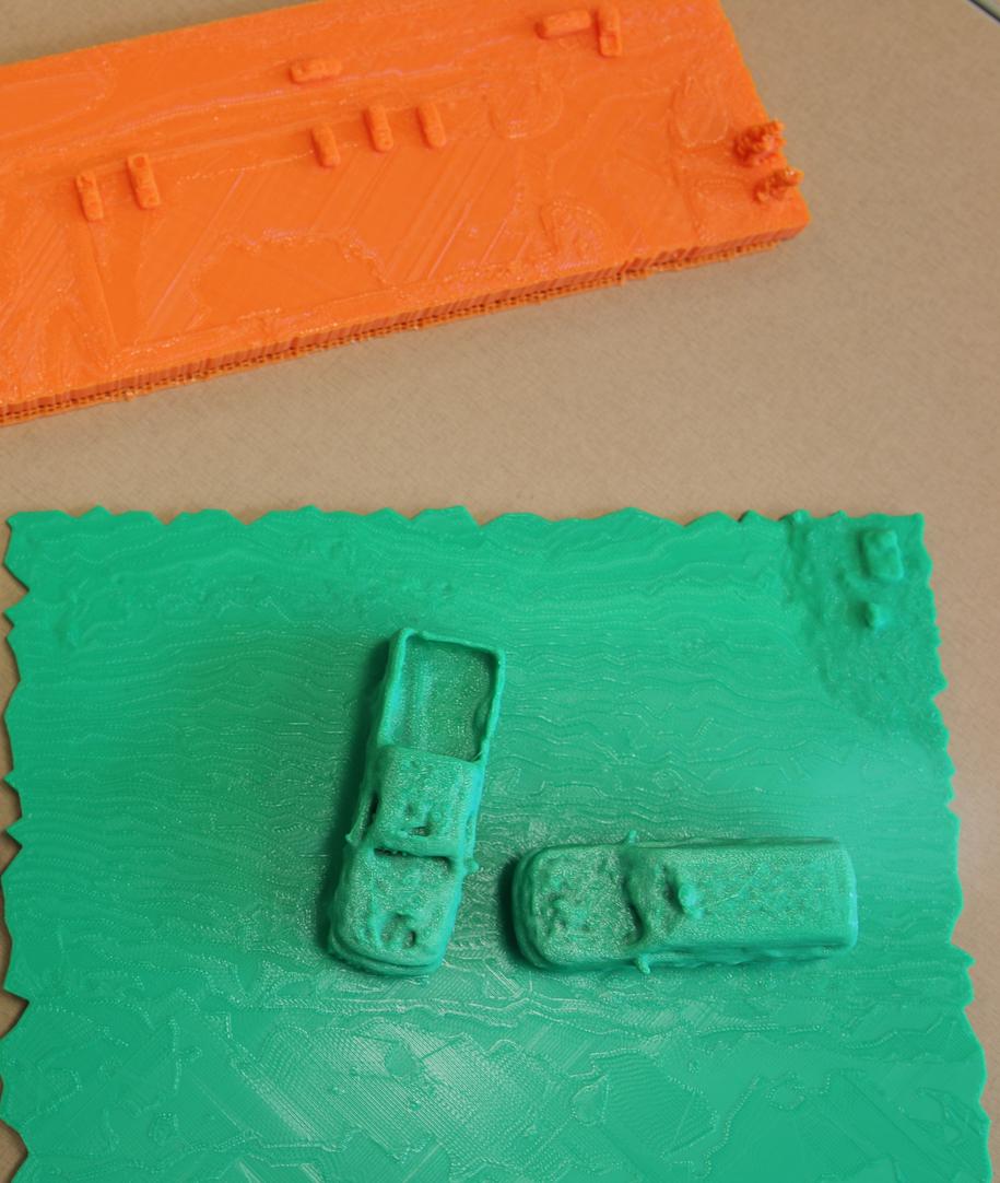 Model 3D wypadku opracowany z pomocą nowej technologii /Erin Easterling/Purdue University /Materiały prasowe