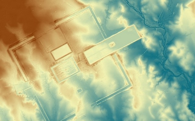 Model cyfrowy starożytnego miasta Preah Khan Kompong Svay. Źródło: The Cambodian Archeological Lidar Initiative /Innemedium.pl