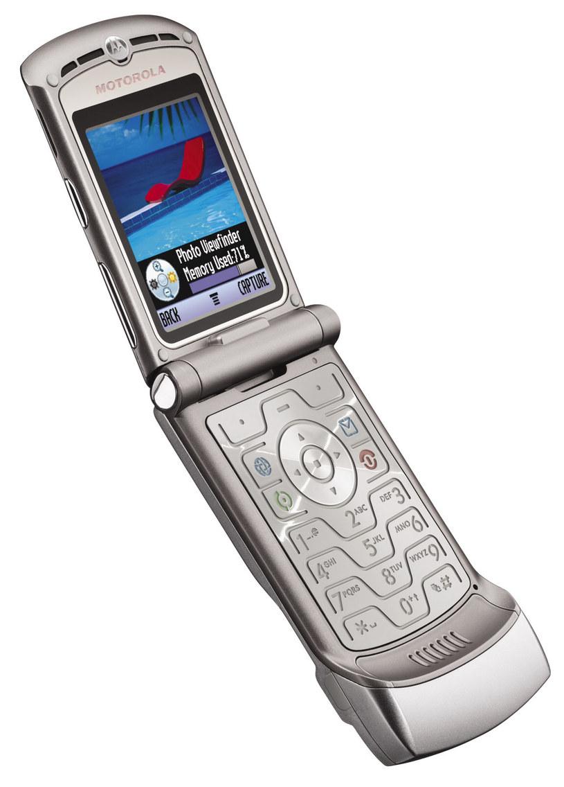 Model Razr V3 to najpopularniejszy telefon w historii Motoroli /materiały prasowe