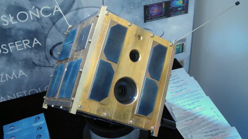 Model satelity BRITE-PL Heweliusz. Fot. ESA /&nbsp
