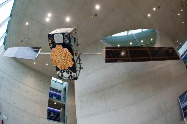 Model satelity Galileo - czy wreszcie doczekamy się europejskiego systemu nawigacji /AFP