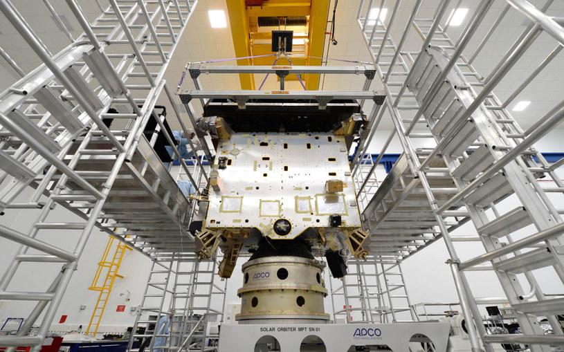 Model sondy Solar Orbiter. /materiały prasowe