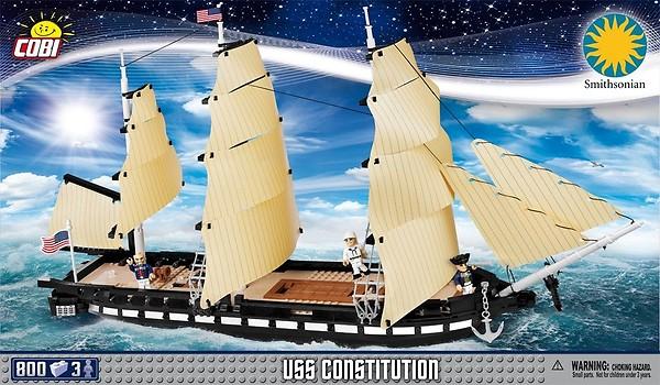 Model USS Constitution może przyłączyć się do zabawy w piratów /materiały prasowe