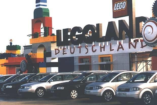 Modele Audi niemieckiego Legolandu (kliknij) /INTERIA.PL