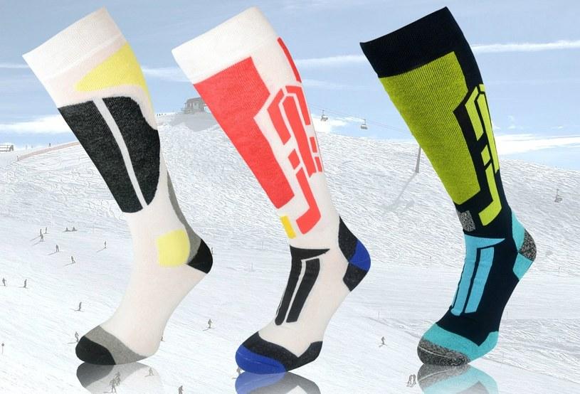 Modele narciarskie świetnie wpasowują się w krzykliwą modę panującą na stokach. Są też naprawdę ciepłe /materiały prasowe