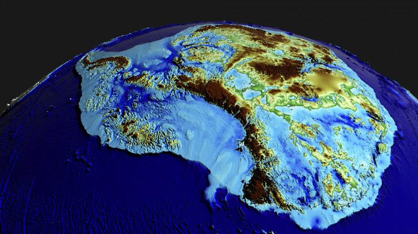 Modele prędkości z jaką topi się antarktyczny lód, na podstawie których powstawały analizy, nie brały pod uwagę wielu kluczowych czynników /NASA's Scientific Visualization Studio /East News