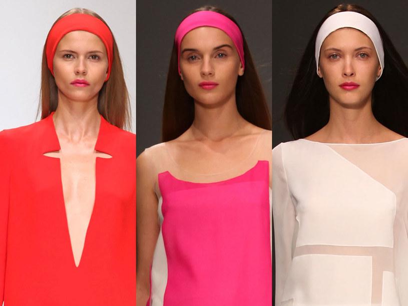 Modelki na pokazie Jasper Conran /Getty Images
