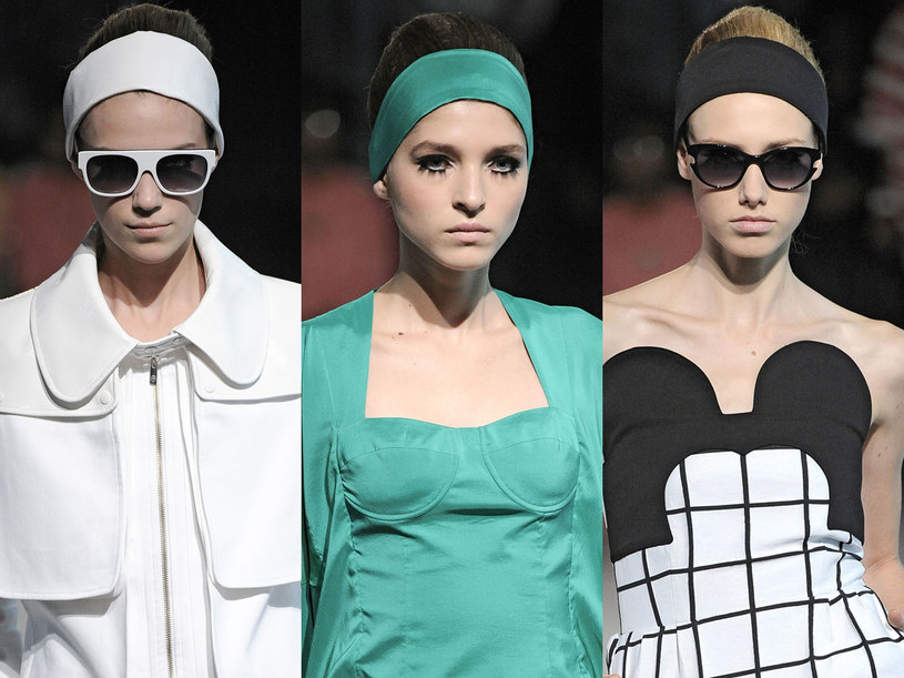 Modelki na pokazie Jean Charles de Castelbajac /East News/ Zeppelin