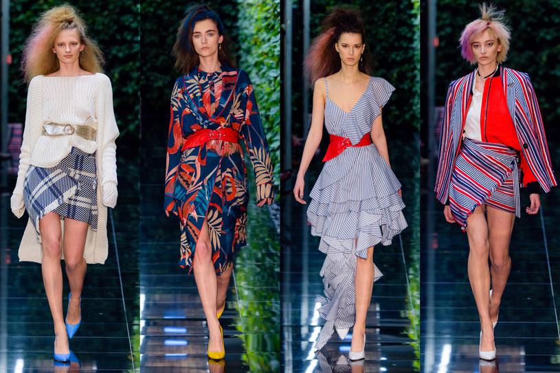 Modelki na pokazie Łukasza Jemioła, fot. Filip Okopny, Fashion Images /materiały prasowe
