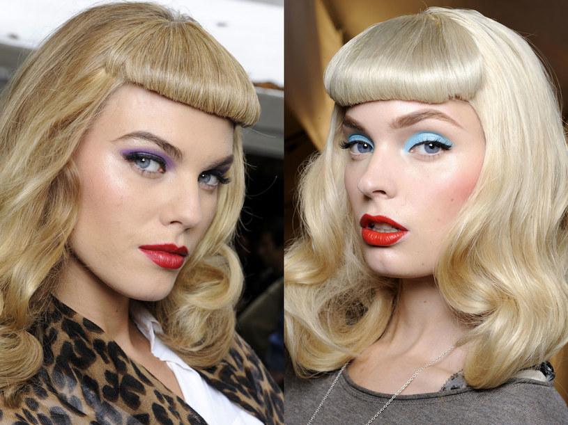 Modelki podczas pokazu mody wiosenno-letniej Diora  /East News/ Zeppelin