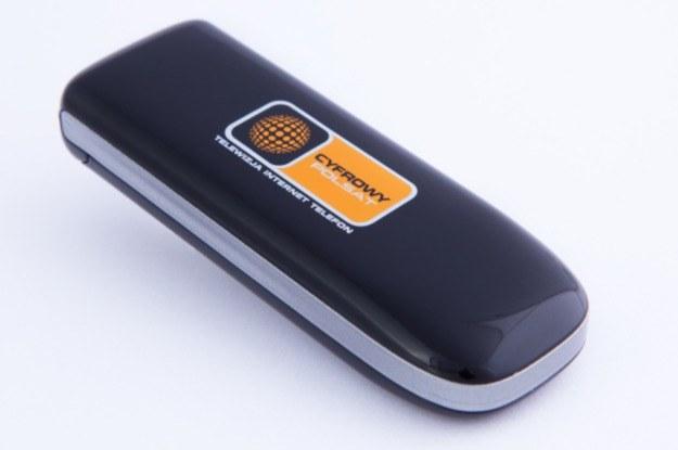 Modem LTE - ZTE MF821, Cyfrowy Polsat /materiały prasowe