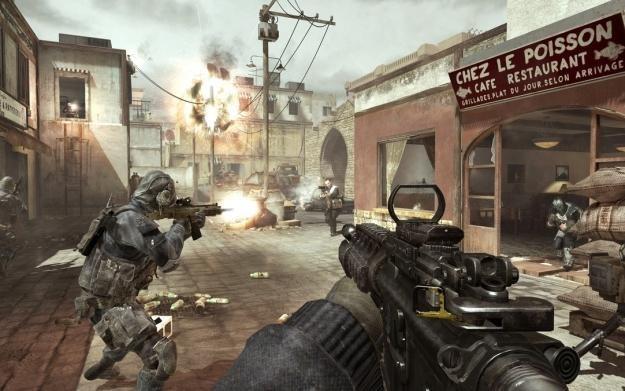 Modern Warfare 3 - motyw graficzny /Informacja prasowa
