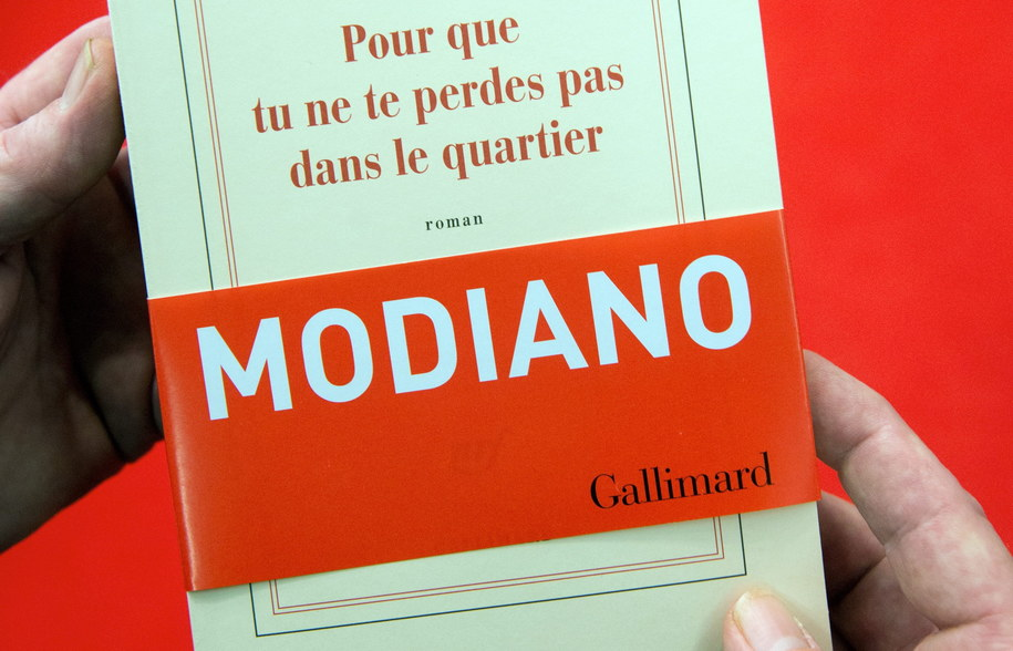Modiano jest autorem ponad 40 dzieł /BORIS ROESSLER   /PAP/EPA