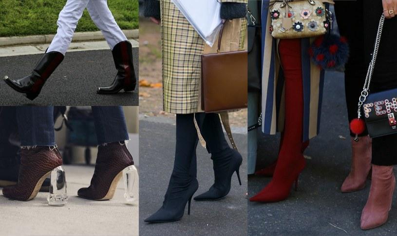 modne buty na zimę /materiały prasowe