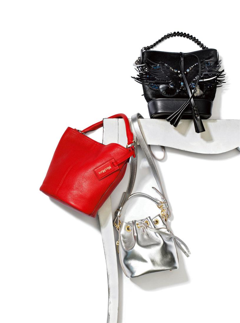 Modne torbki przypominaja sakwy /Twój Styl