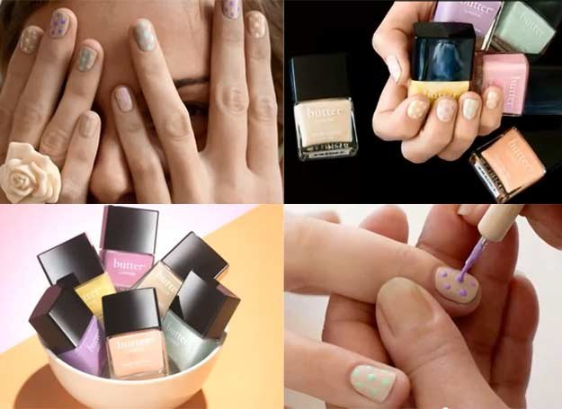 Modny letni manicure /INTERIA.PL
