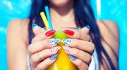 Modny manicure na lato