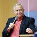 """Modny"" Marek Kondrat na spotkaniu ze studentami"