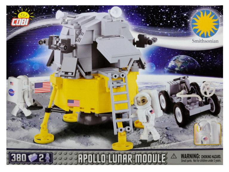 Moduł księżycowy Apollo od Cobi /materiały prasowe