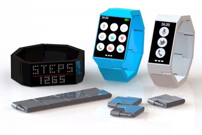 Modularny smartwatch Blocks. /materiały prasowe