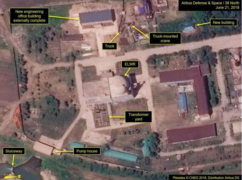 """Modyfikacje w koreańskiej elektrowni jądrowej są według specjalistów czymś """"normalnym"""" /Fot. 38 North /materiały prasowe"""