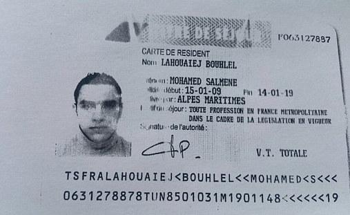 Mohamed Lahouaiej Bouhlel - zamachowiec z Nicei /AFP