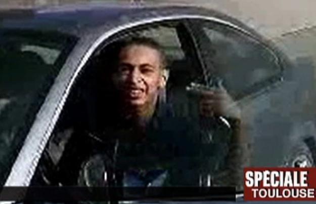 Mohamed Merah na obrazie z francuskiej telewizji /AFP