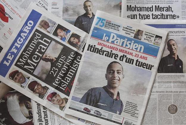Mohamed Merah zginął w ubiegłym tygodniu /AFP