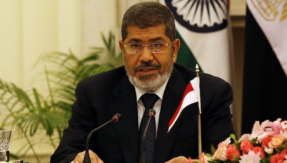 Mohamed Mursi /HARISH TYAGI   /PAP/EPA