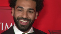 "Mohamed Salah i Alex Morgan na gali magazynu ""Time"". Wideo"
