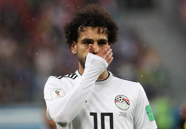 Mohamet Salah miał być gwiazdą mundialu, ale zawiódł swoją drużynę /GEORGI LICOVSKI /PAP/EPA
