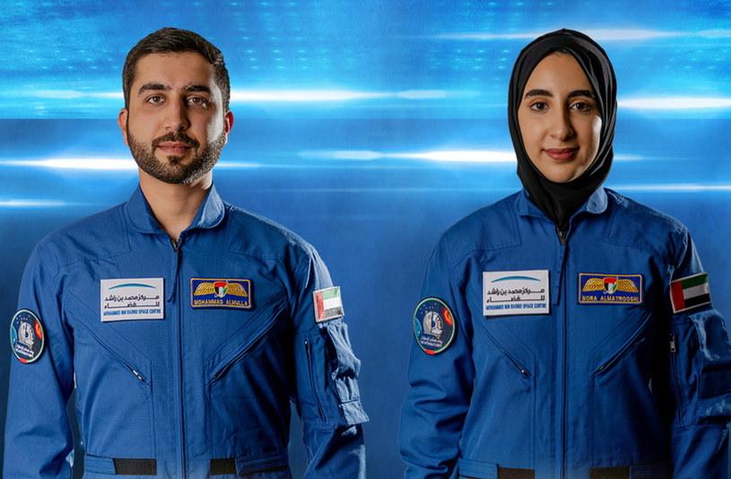 Mohammed al-Mulla i Nora al-Matroszi /EMIRATES NEWS AGENCY / HANDOUT /PAP/EPA