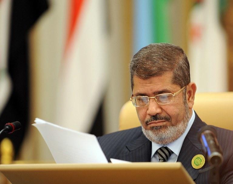 Mohammed Mursi /AFP