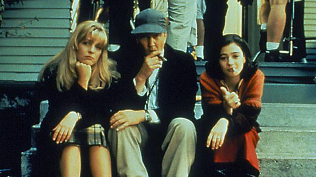 """Moira Kelly, Sheryl Lee i David Lynch na planie pierwszego """"Miasteczka..."""" /AKPA"""