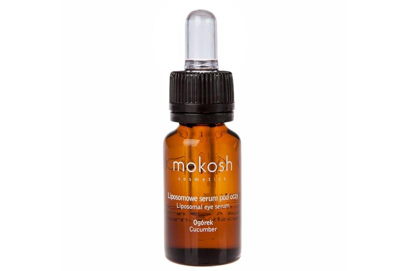 Mokosh, Liposomowe serum pod oczy Ogórek /materiały prasowe