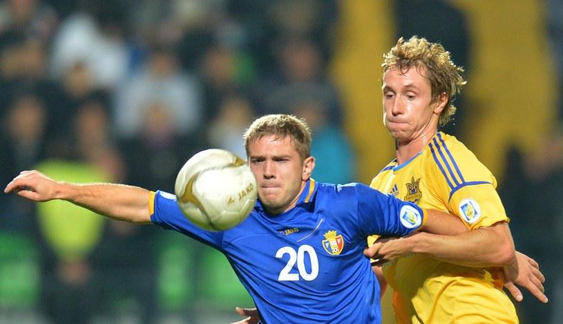 Mołdawia zremisowała z Ukrainą 0-0 /AFP