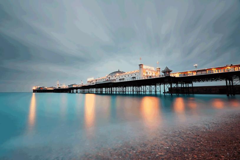 Molo w Brighton /123RF/PICSEL