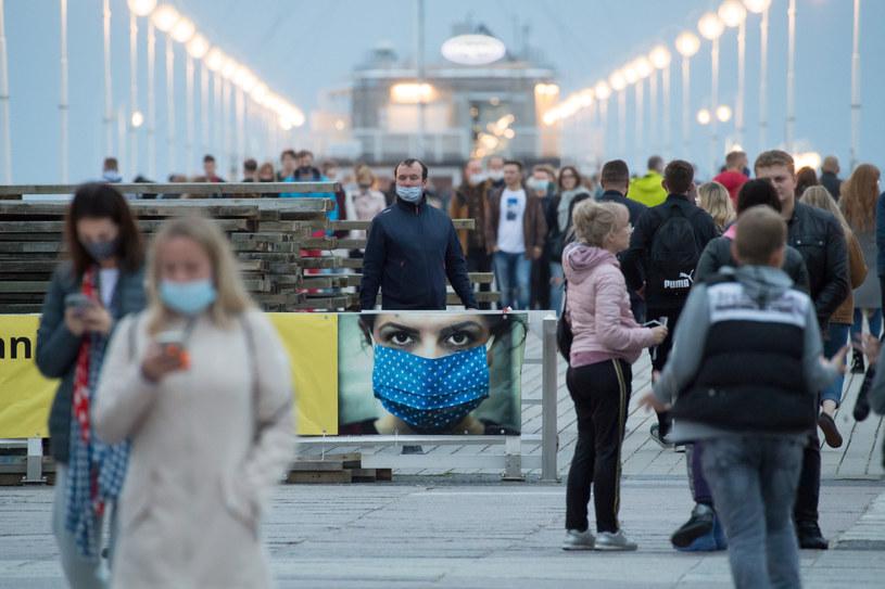 Molo w Sopocie w czasie epidemii koronawirusa /Wojciech Stróżyk /Reporter